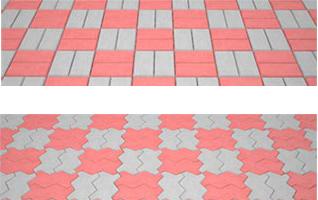укладка плитки плетенка