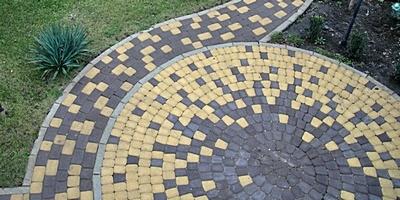 Разнообразие дизайна тротуарной плитки. Часть 3