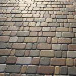 Укладка тротуарной плитки Старый город